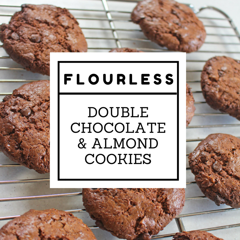 Flourless Double-Chocolate Pecan Cookies Recipe — Dishmaps